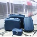 Velký šedý kufr